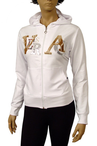 VERSACE Ladies Hooded Cotton Jacket #16