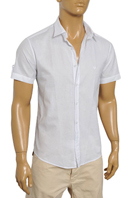 EMPORIO ARMANI Men's Short Sleeve Shirt #187