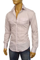 EMPORIO ARMANI Mens Dress Shirt #129