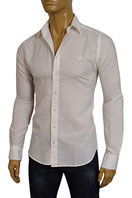 EMPORIO ARMANI Mens Summer Dress Shirt #153