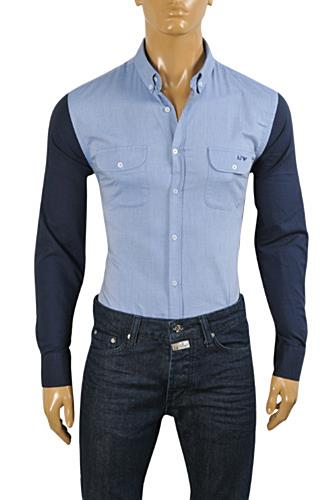 ARMANI JEANS Men's Button Down Shirt #257