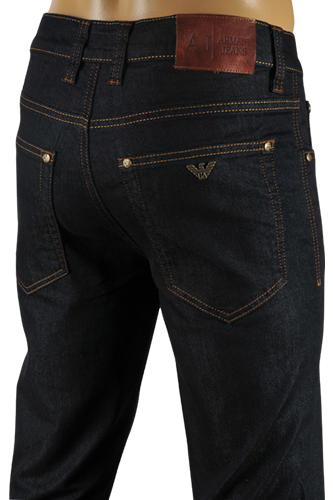 ARMANI Jeans For Men In Navy Blue #123