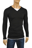 EMPORIO ARMANI Men's Cotton Long Sleeve Shirt #215