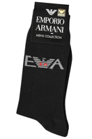 EMPORIO ARMANI Socks For Men In Black #37