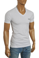 EMPORIO ARMANI Men's V-Neck Short Sleeve Tee #76
