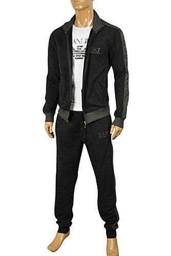 EMPORIO ARMANI Men's Zip Up Tracksuit #132