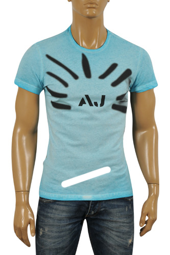 ARMANI JEANS Men's Cotton T-Shirt #101