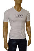 EMPORIO ARMANI V-Neck Mens Short Sleeve Tee #47