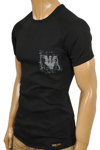 EMPORIO ARMANI Men's Crewneck Short Sleeve Tee #84