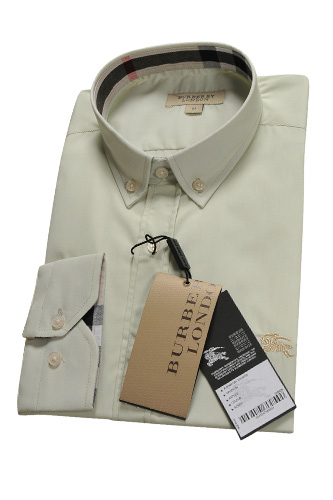 BURBERRY Men's Button Up Dress Shirt #140