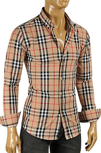 BURBERRY Men's Button Down Shirt #214