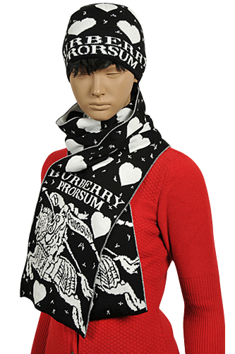 BURBERRY Ladies' Hat/Scarf Set #116