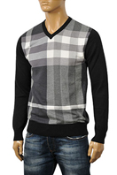 BURBERRY Men's V-Neck Sweater #112