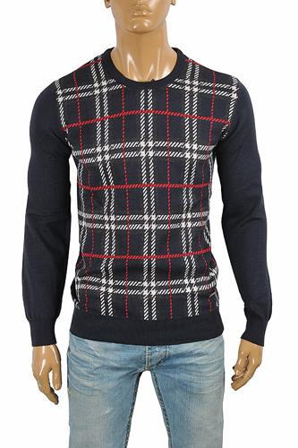 BURBERRY Men's Round Neck Knitted Sweater 279