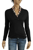 BURBERRY Ladies Long Sleeve Top #117