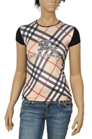 BURBERRY Ladies Short Sleeve Top #64