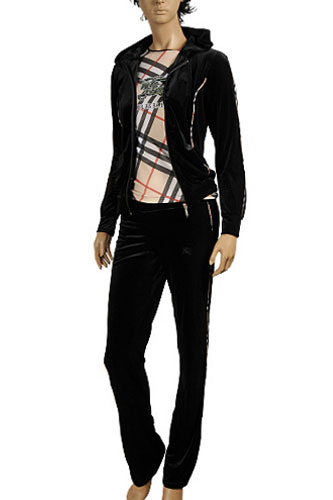 Womens Designer Clothes   BURBERRY Ladies  Tracksuit  34 View 1 09a515ee83f