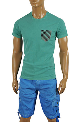 BURBERRY Men's Cotton T-shirt #144
