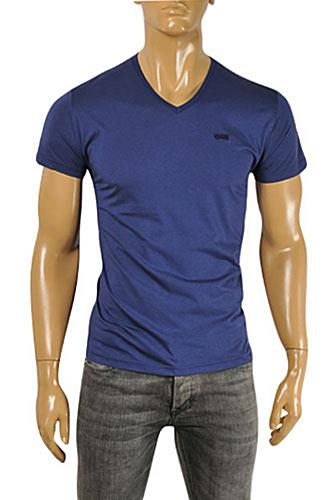 BURBERRY Men's V-Neck Short Sleeve Tee #203