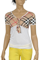 BURBERRY Ladies Short Sleeve Tee #54