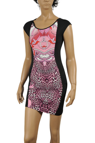 ROBERTO CAVALLI Stretch Sleeveless Dress #268