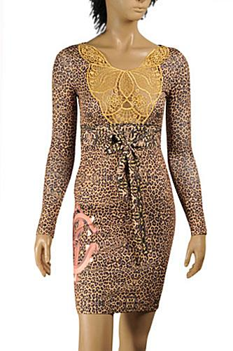 ROBERTO CAVALLI Fitted Stretch Dress #357