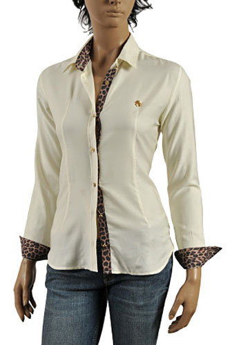 ROBERTO CAVALLI Ladies' Dress Shirt #272