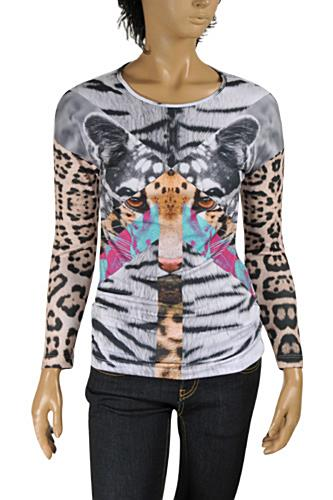 ROBERTO CAVALLI Ladies' Long Sleeve Top #343