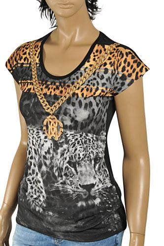 ROBERTO CAVALLI Ladies Short Sleeve Top #162