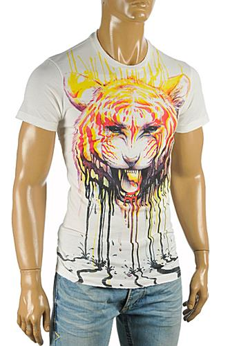 JUST CAVALLI Men's Short Sleeve Tee #163