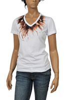 ROBERTO CAVALLI Ladies Short Sleeve Tee #63