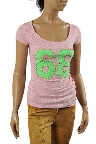 JUST CAVALLI Ladies' Short Sleeve Tee #97
