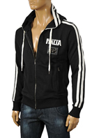 DOLCE & GABBANA Men's Cotton Hooded Jacket #374