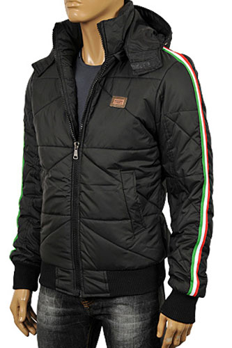 DOLCE & GABBANA Men's Hooded Warm Jacket #393