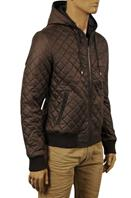 DOLCE & GABBANA Men's Warm Hooded Jacket #406