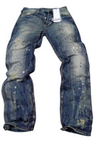 DOLCE & GABBANA Mens Washed Jeans #152