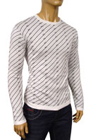 DOLCE & GABBANA Mens Round Neck Fitted Sweater #162