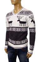DOLCE & GABBANA Mens V-Neck Sweater #173