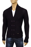 DOLCE & GABBANA Mens Knit Button Up Sweater, #183