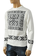 DOLCE & GABBANA Men's Knitted Sweater #208