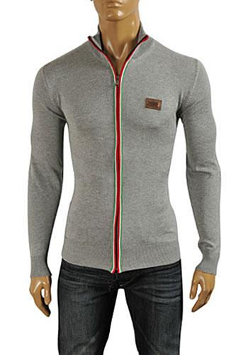 DOLCE & GABBANA Men's Knit Fitted Sweater #237