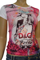 DOLCE & GABBANA Ladies Short Sleeve Top #133
