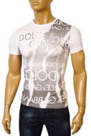 DOLCE & GABBANA Mens Short Sleeve Tee #126