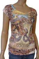 DOLCE & GABBANA Ladies Short Sleeve Tee #139
