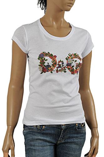 fb2347d2 Womens Designer Clothes   DOLCE & GABBANA Ladies' T-Shirt #218 View 1