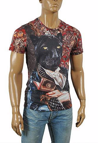 DOLCE & GABBANA Men's Printed T-Shirt #244