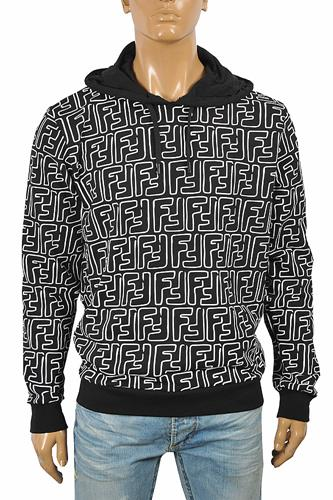 FENDI FF men's cotton hoodie 59