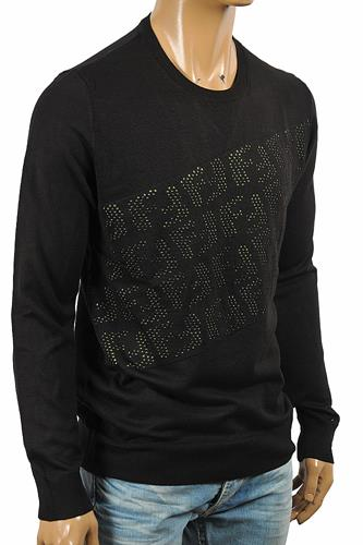 FENDI men's high quality FF appliqué sweater 57