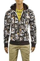 JOHN GALLIANO Men's Hooded Warm Jacket #4