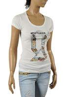 JOHN GALLIANO Ladies Short Sleeve Top #41